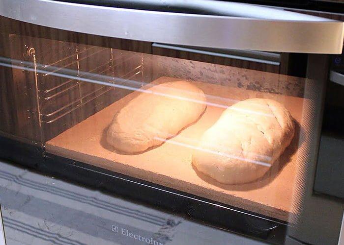 forno para assar pão caseiro