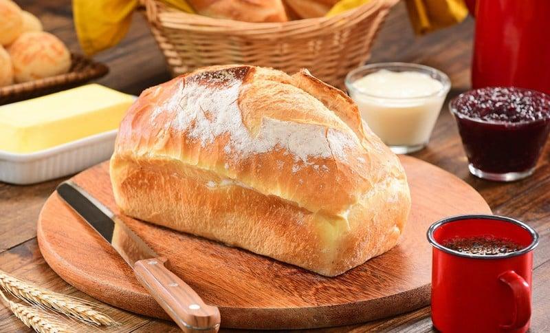 receita de pão caseiro de liquidificador