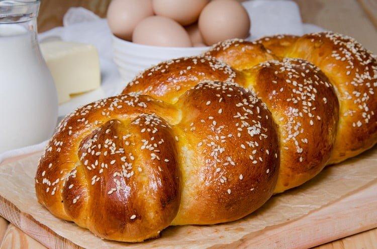 como enrolar pão caseiro