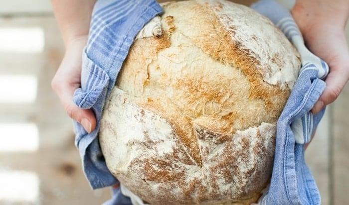 pão caseiro para iniciantes