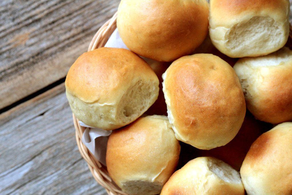 Pão de batata.