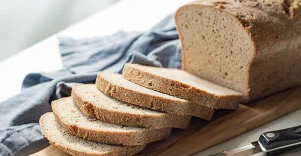 Pão low carb.