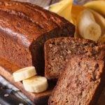 Pão de banana: Receita simples passo a passo