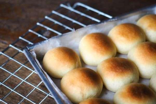 Pão de leite ninho.